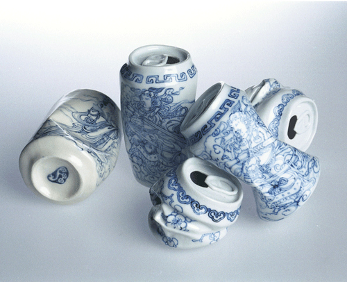 """Drinking tea"" (2007) Lei Xue"