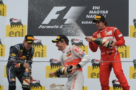 Podium Hungaroring 2011 #picture #f1