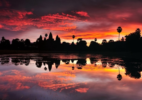 Angkor Wat in Sunrise #photo #contest