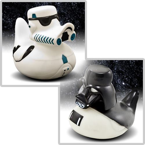 Star Wars Rubber Ducks #want