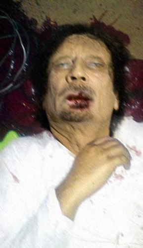 Photo de Khadafi Mort