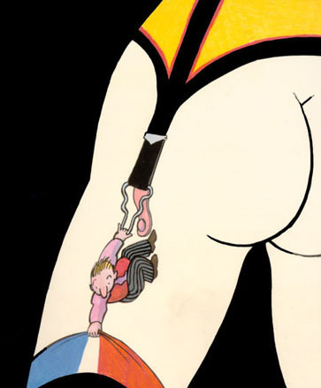 Illustration de Tomi Ungerer