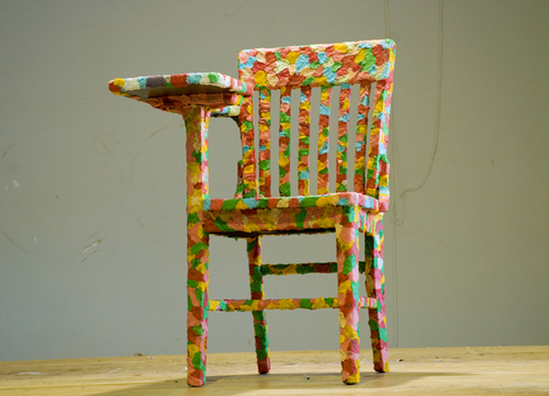 Chewing Gum Chair by Melissa Harris