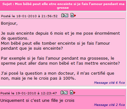 Doctissimo m'a tuer