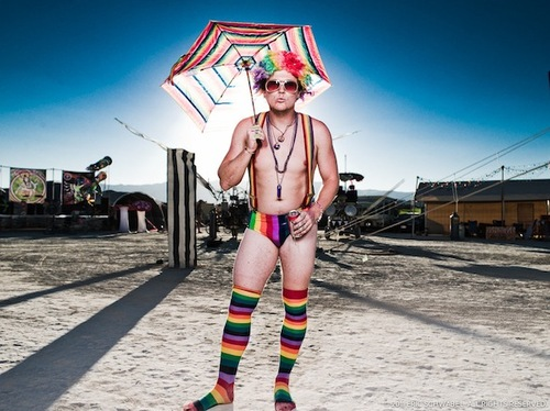A One Man Mobile Studio At Burning Man