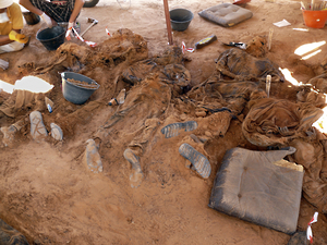 Libya: Mass Grave Yields 34 Bodies