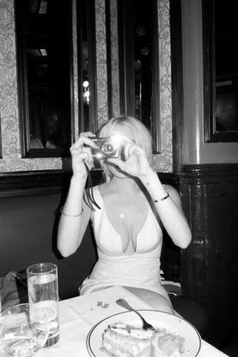 Terry Richardson's Diary : Lindsay Lohan taking my picture.