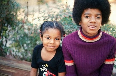 Rare Photographs of Celebrities : Michael and Janet Jackson