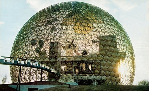 Radical Nature exhibition, Barbican, London | Richard Buckminster Fuller