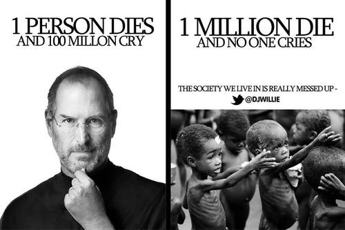 Steve Jobs VS Rest of the World | Via @djwillie