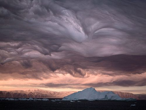Stratus Clouds Picture – Greenland Photo -