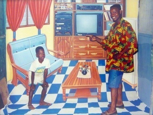 No place like home, 1996 (Philip Kwame Apagya)