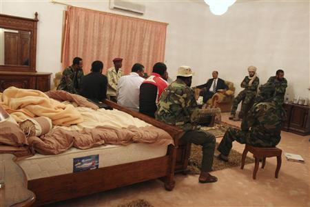 Witness: Sleeping in Gaddafi's bedroom