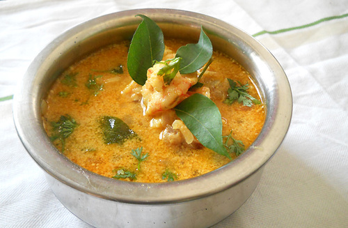 Goan Prawns Curry with Coconut Milk #food #recettes #recipes #cuisine