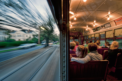 NEW ORLEANS STREETCAR - National Geographic Photo Contest 2011
