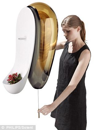 Will home-owners swarm to the idea? Get the freshest ever honey with a wall-mounted urban bee-hive