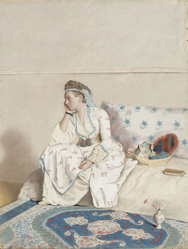 """Portrait of the artist's wife, Marie Fargues"" 