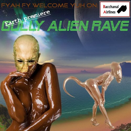 Gully Alien Rave #design #strange