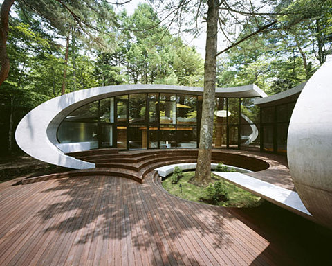 shell house' by kotaro ide