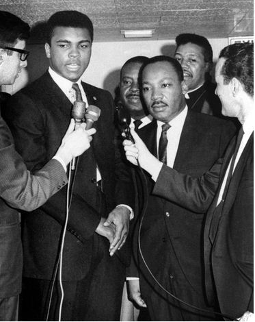 Ali et Martin Luther King