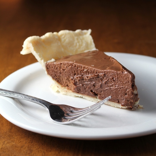 French silk chocolate pie #food #recettes #recipes #cuisine