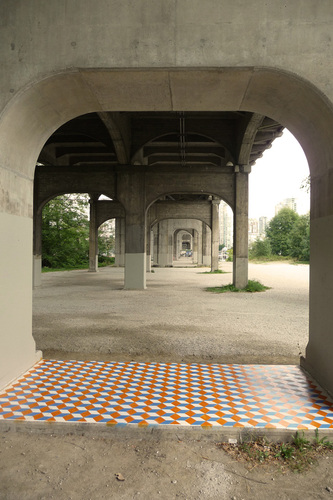 spacemakeplace, Burrard Bridge Floor, Vancouver