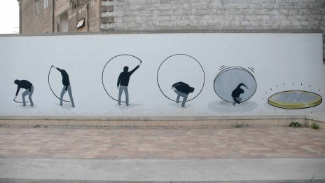 « Street Art vs Capitalism » d'Escif #crise #graffiti