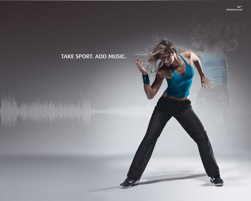 Take Sport, Add Music