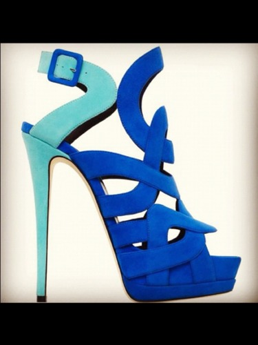 Blue #shoes