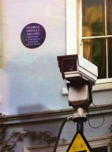 George Orwell is Watching you