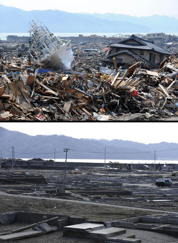 See how Japan has rebuilt in the 11 months since the earthquake and tsunami