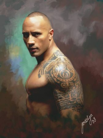 "Dwayne ""The Rock"" Johnson #tattoo"