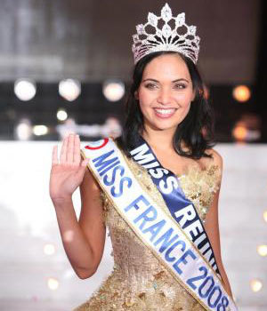 Valérie Bègue Miss France 2008