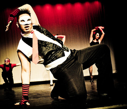 #voguing : a highly stylized, modern house #dance evolved out of the Harlem ballroom