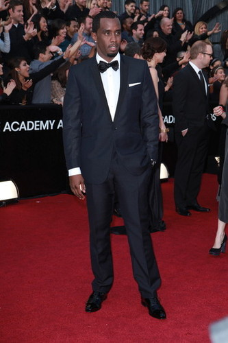 2012 Oscar - Sean 'Diddy' Combs.