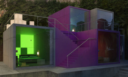 Colorful Cubic Boutique Hotel Residing On The Dead Sea