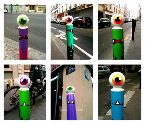 Le CyKlop: Paris street-art