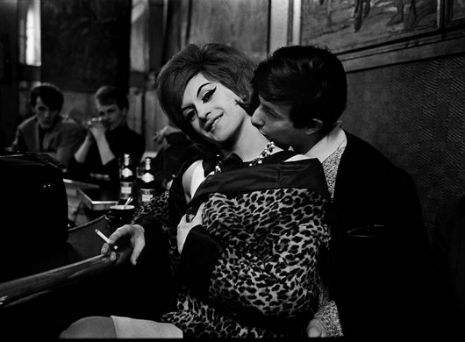 Black & White Photographs of Parisian #Prostitutes from 1950s-60s