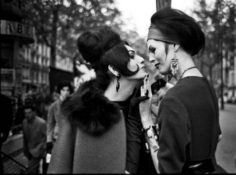 """Parisian #prostitutes photos, from the book """"Amies De Place Blanche"""" by Christer Strömholm."""