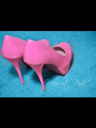 #pink #shoes