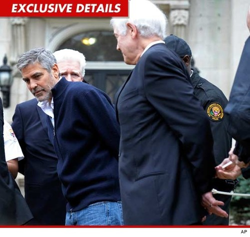 Sudan crisis: George Clooney and his father Nick have been arrested in Washington during a protest
