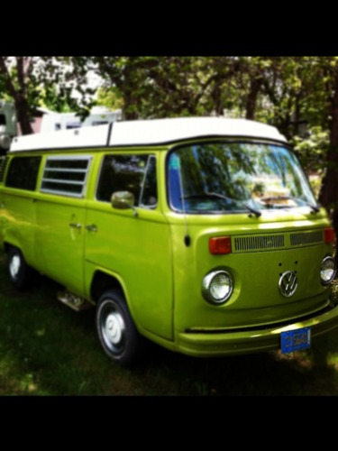 Volkswagen van - My vintage cars collection
