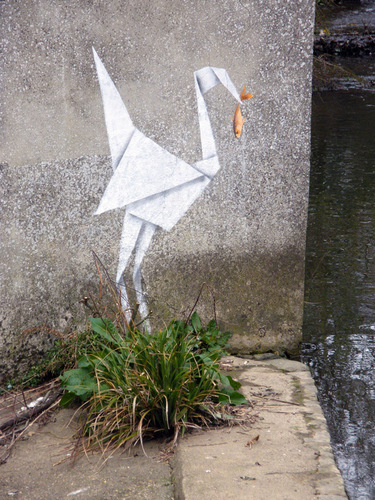 Banksy Does Origami
