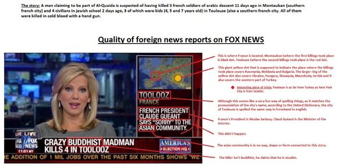 """TO LOSE Foreign news by FOX """"News"""" - Parodic journalism"""