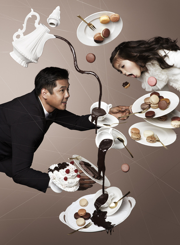 Gravity Defying Photography for Chocolate