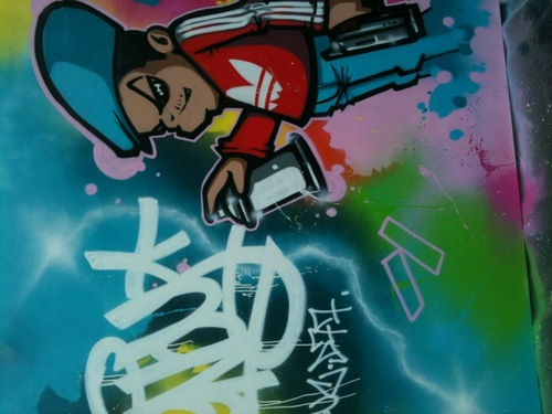 #graffiti street day l'original 2012