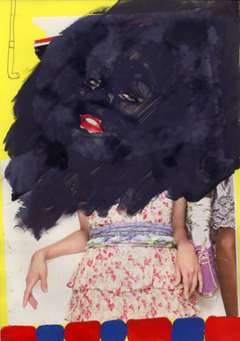 Claudio Parentela's collages
