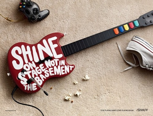 Sparrow Guitars Campaign