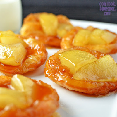 Drippilicous Pear and Maple tartes tatin  #food #recettes #cuisine