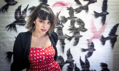 "Norah Jones, whose new album, ""Little Broken Hearts,"" will be released on May 1"